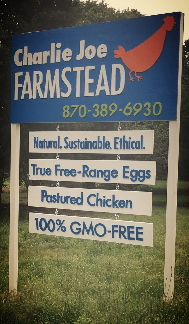 CJ Farmstead Road Sign