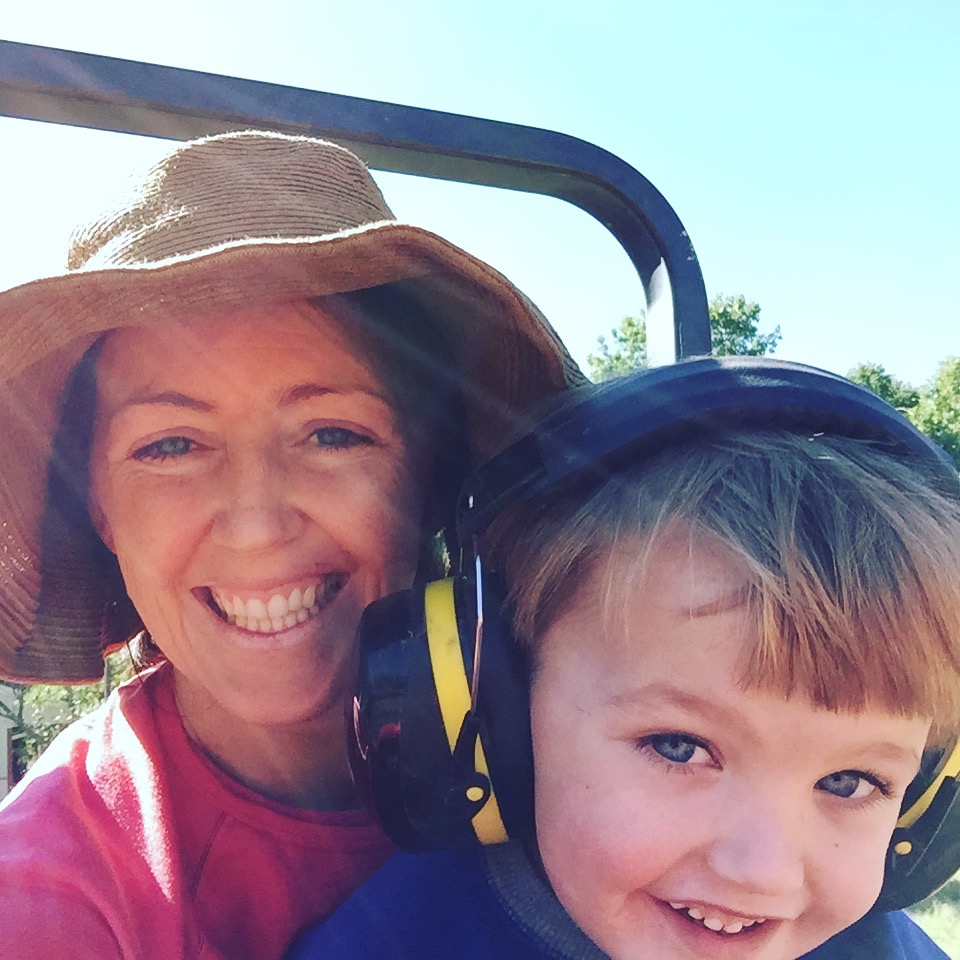 Farmer Mom and Farmer-in-Training September 2017