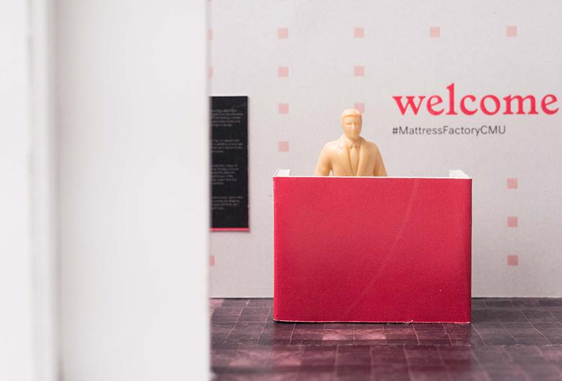 Mattress Factory/CMU: The Work of Ezra Masch - Exhibit design that promotes patron engagement ↗