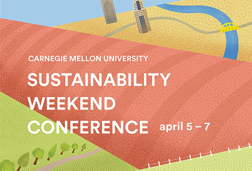 Sustainability Weekend Conference Poster - A poster design featuring PGH's local community ↗