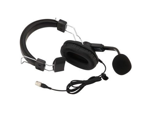 LMH-125/125D - Lightweight, Single Sided Muff Headset
