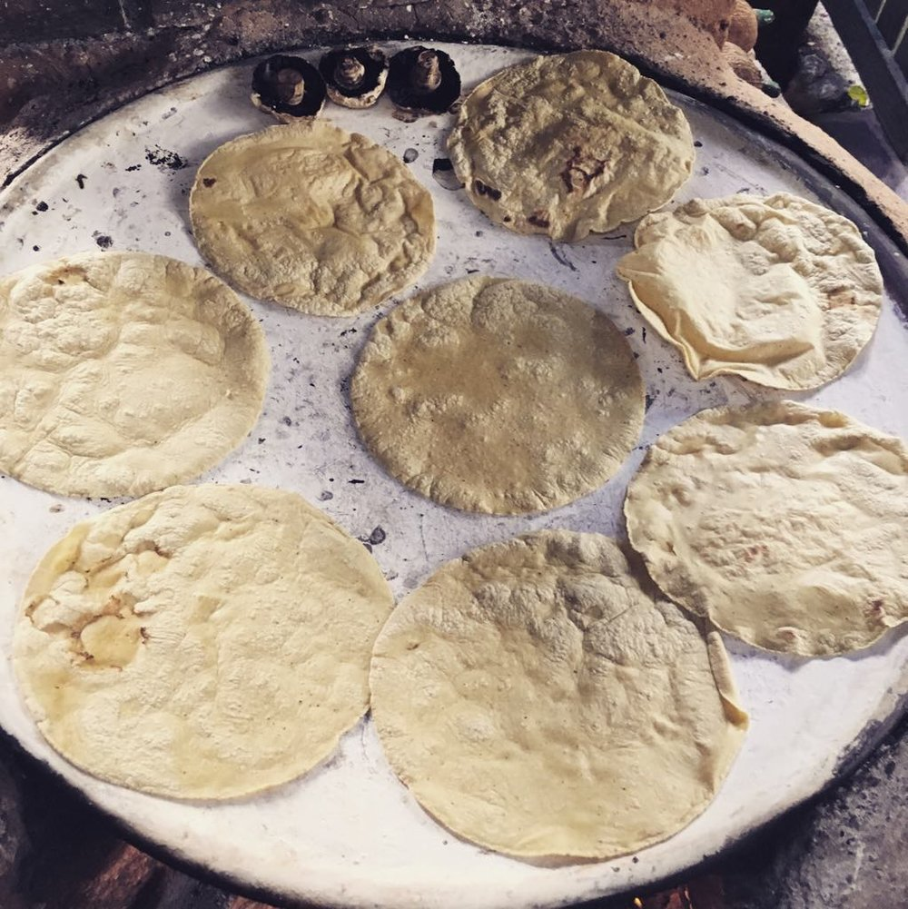 Tortillas de comal