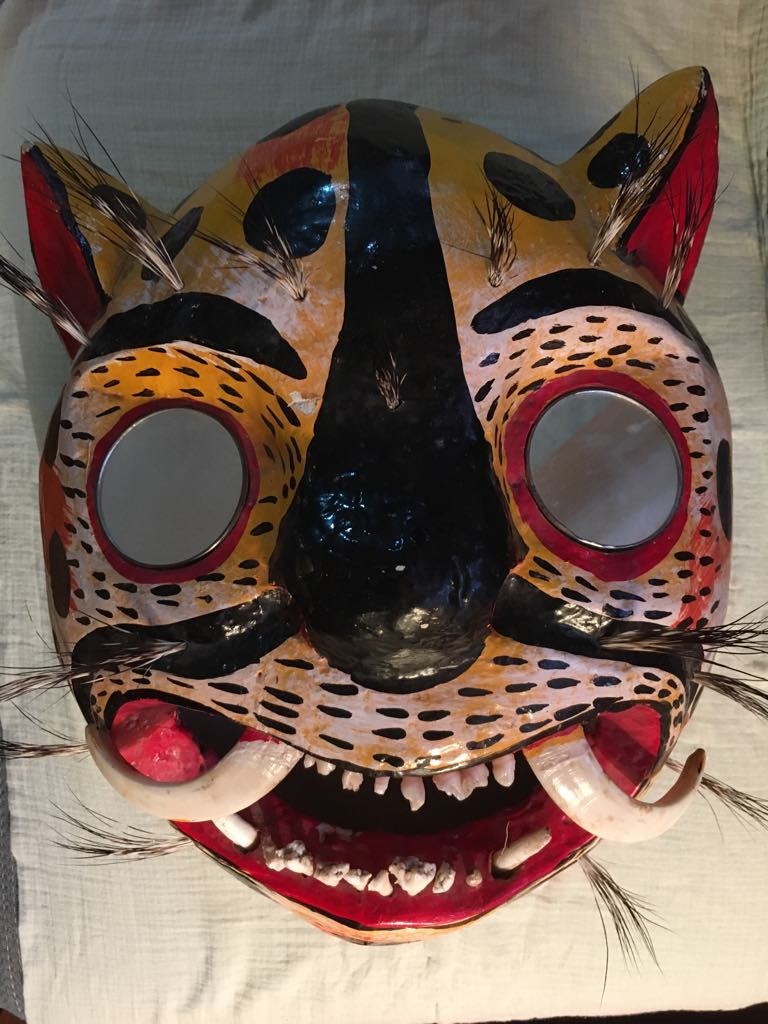 Jaguar Mask - large. $150