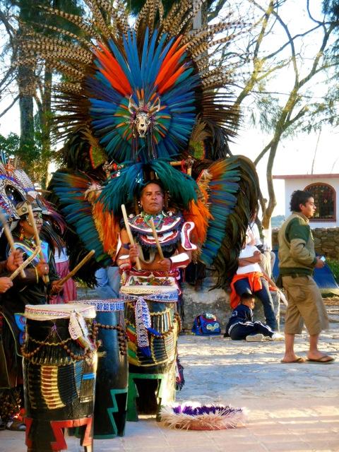 Aztec Dancer in Ixcateopan, Guerrero