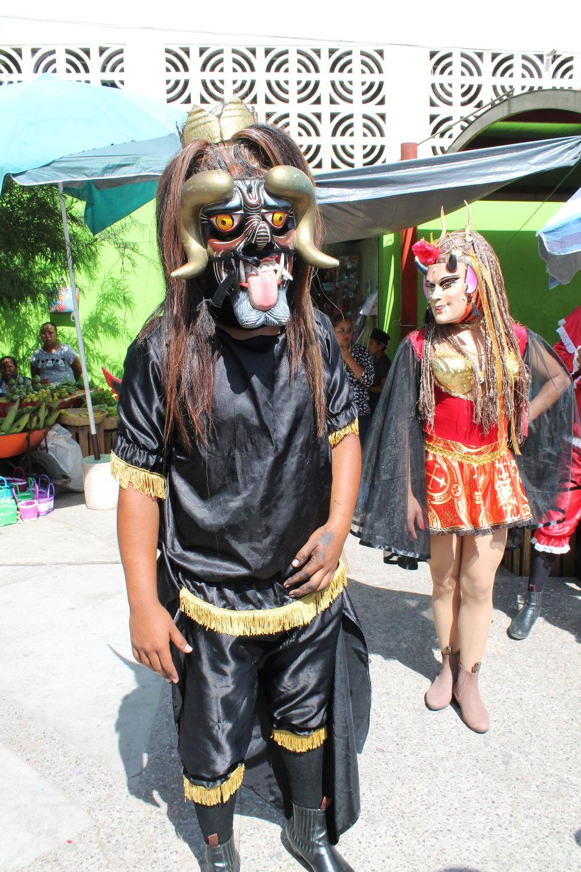 Diablo Dancers, Mochitlan, Guerrero
