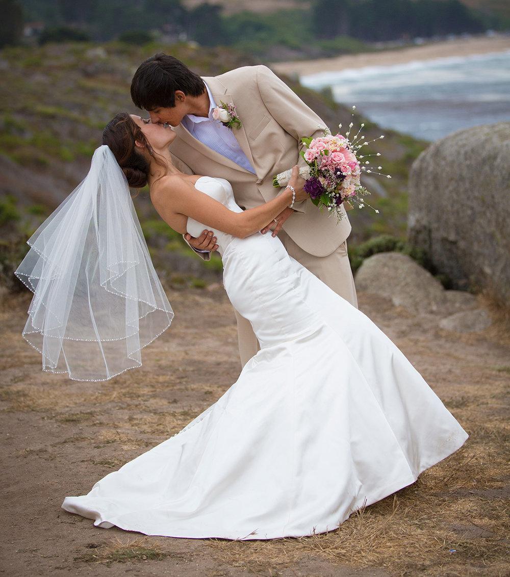 Carmel Beach Wedding, Monastery Beach