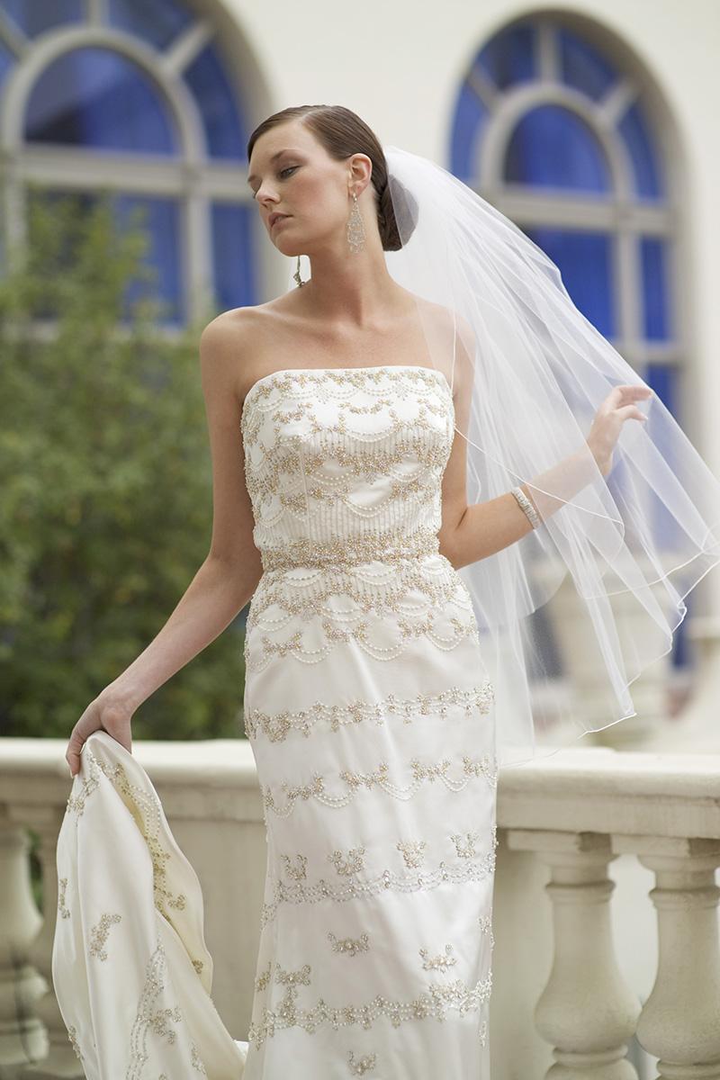 Carmel Valley Wedding, Wedding Dress