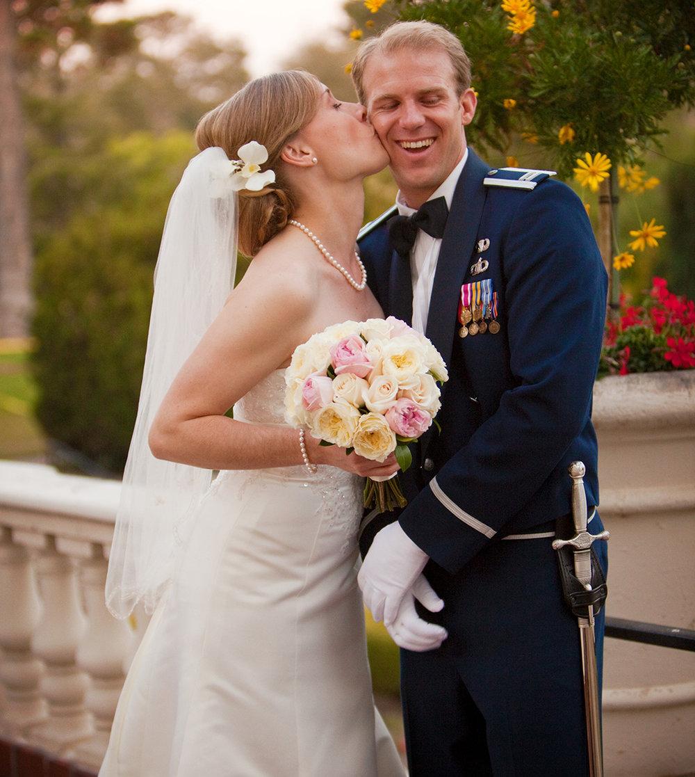 Monterey Wedding, Navy School Wedding