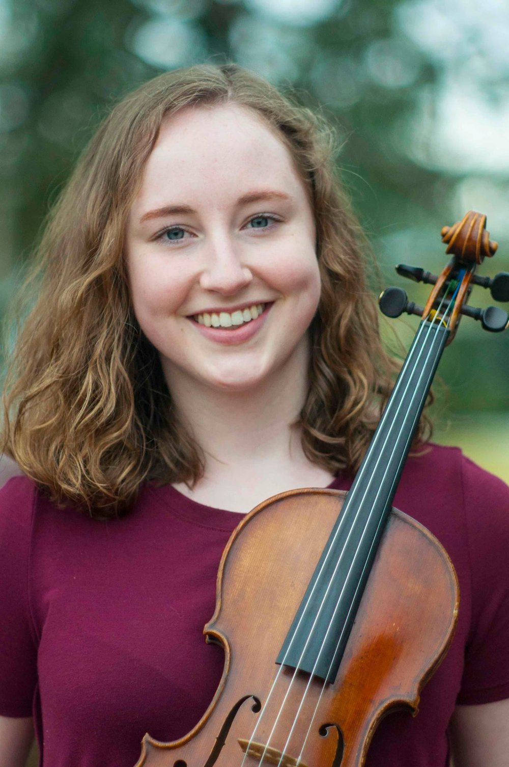 Hannie McGarity, Violin - Winner - St. Olaf College, Northfield, MN