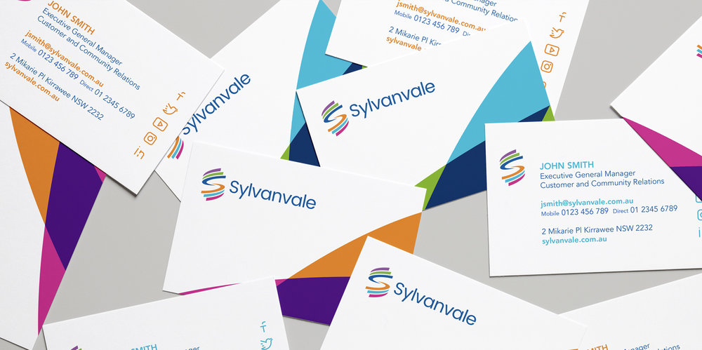 Sylvanvale - business cards