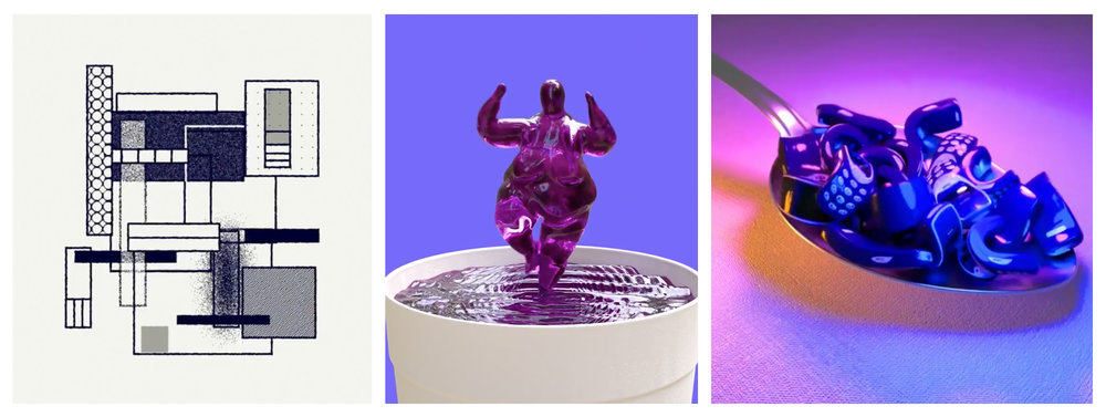 Image credit:  Transparencies animation  /  3D Motion teaser  /  Creepy Callies animation