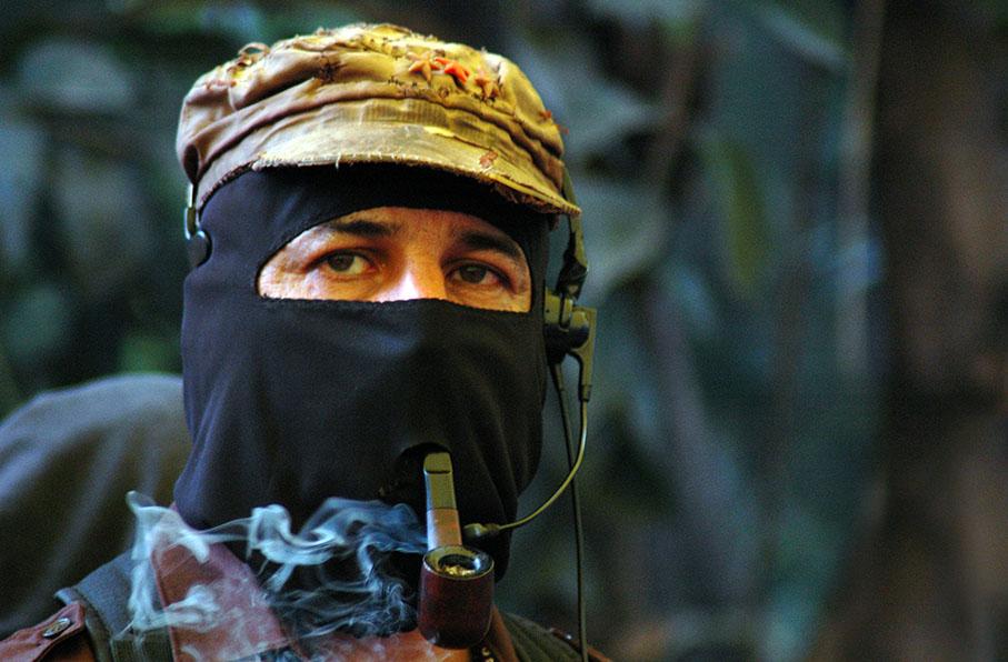 Sub Comandante Marcos EZLN Guerrilla
