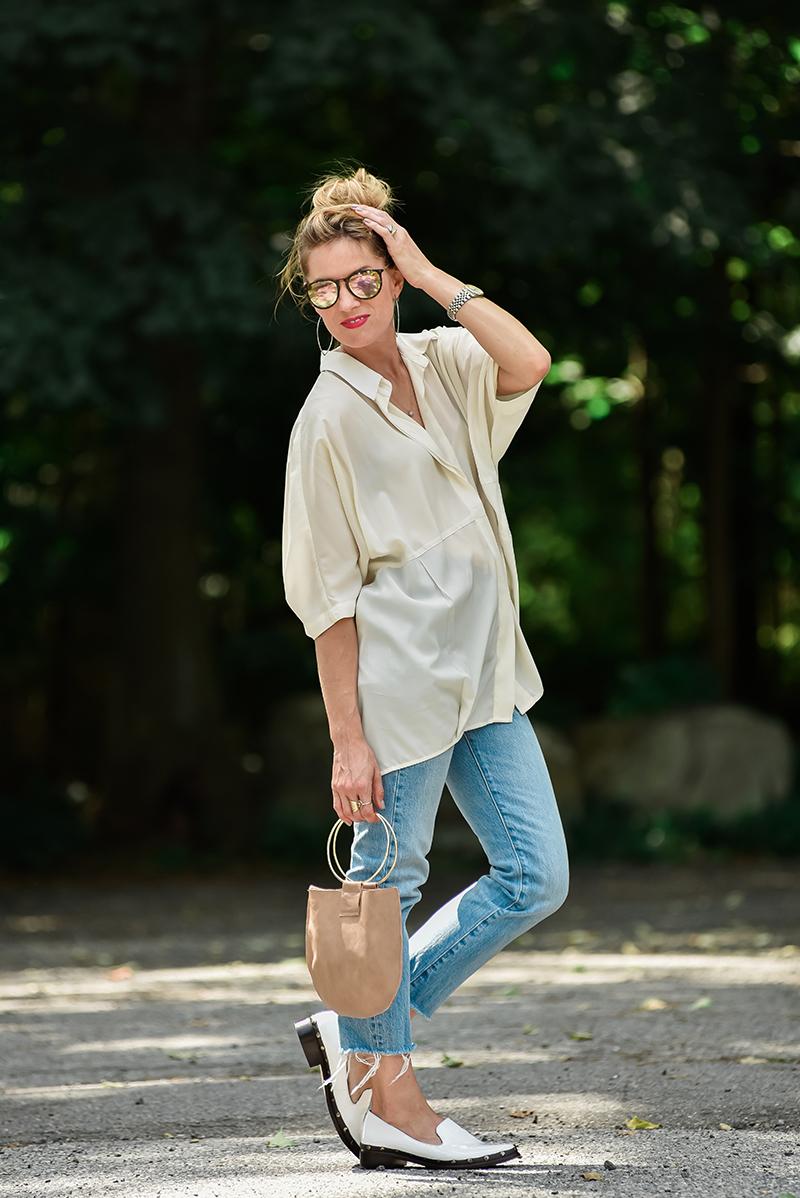 Hatch blouse