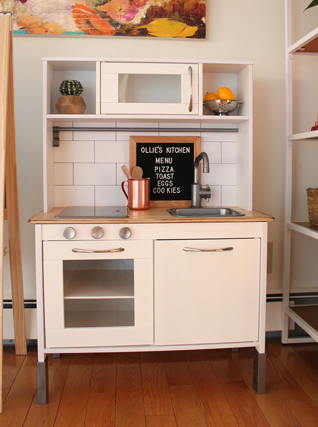 Ikea Hack // Kid\'s Play Kitchen — Lauren Koster Creative