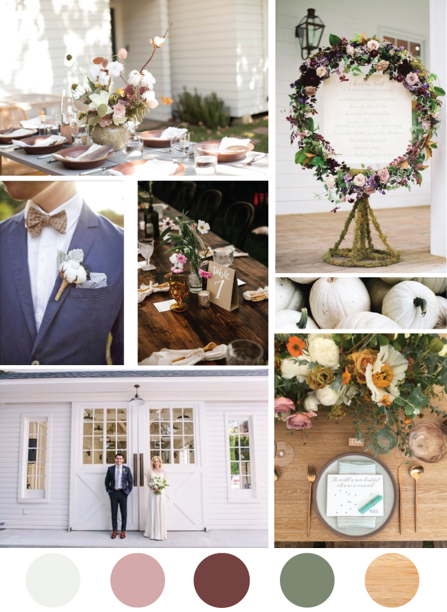 Blush Fall Wedding Inspiration