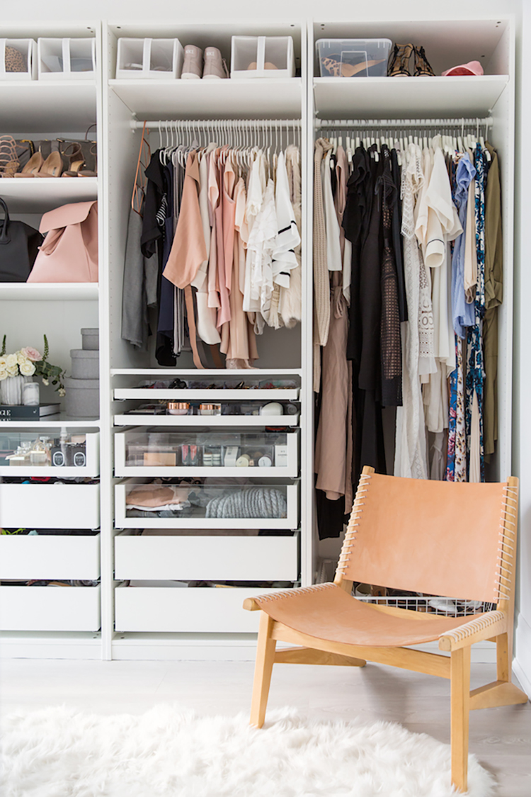 How to do a complete closet overhaul