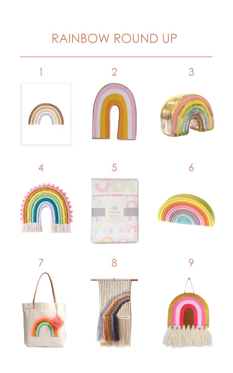 Rainbow Decor round-up
