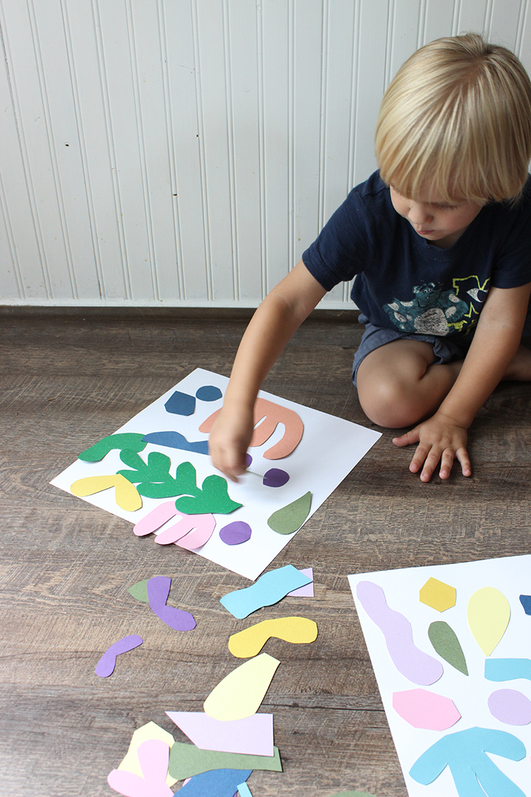 DIY Matisse-Inspired Kids Art