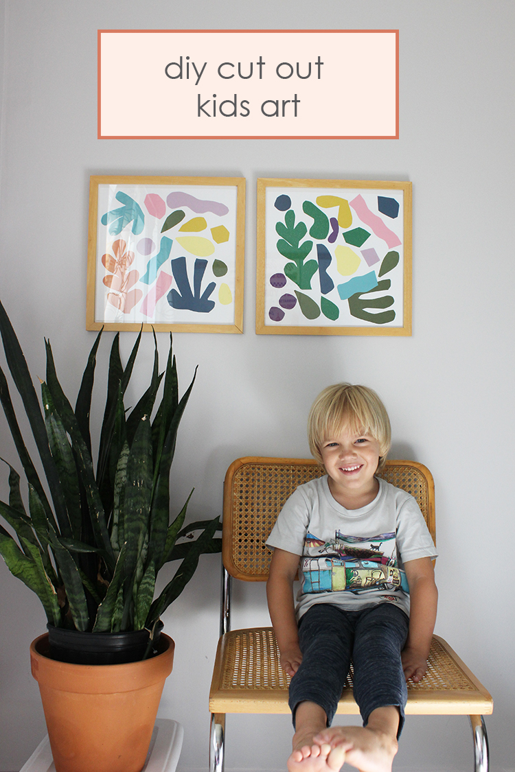 DIY Cut Out Kids Art