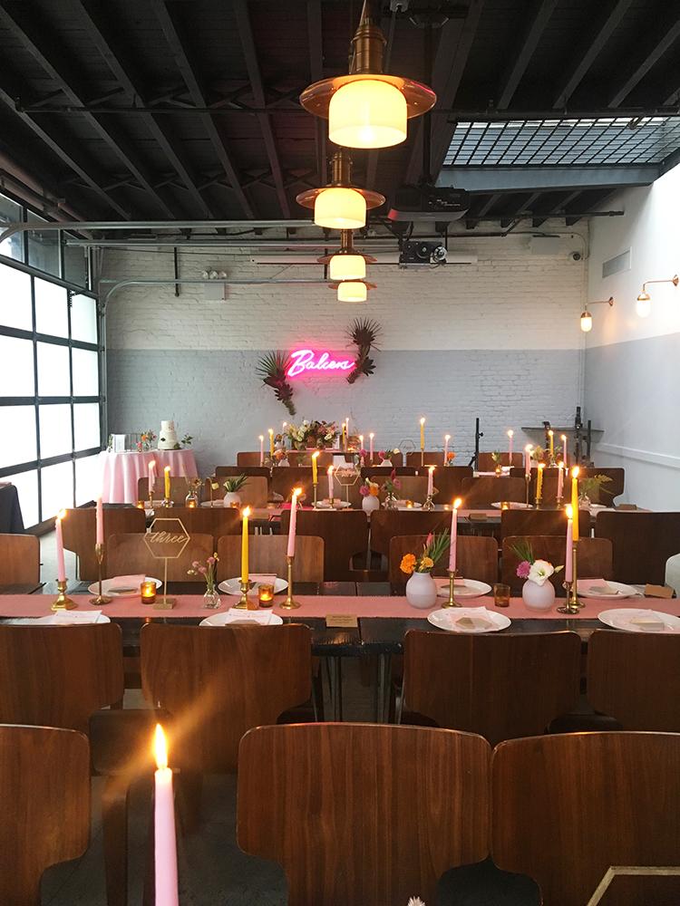 Lauren Koster Creative wedding at Berg'n