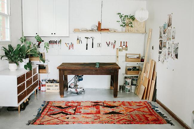 One Room Challenge Garage turned Studio