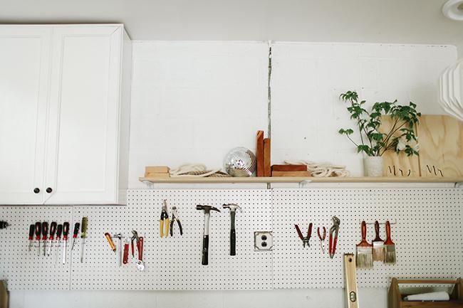 One+Room Challenge Garage turned Studio