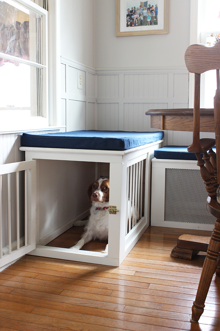 DIY Built in dog cage