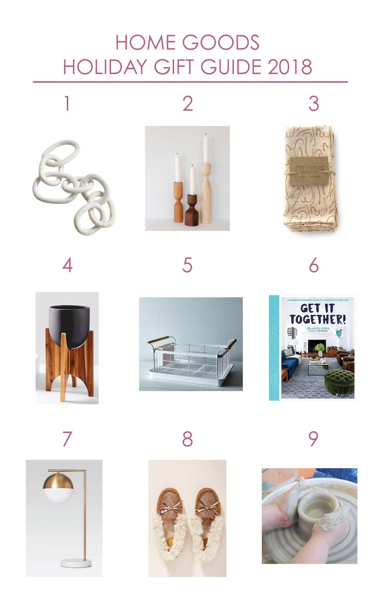 Home Goods Gift Guide