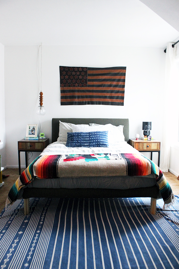 DIY Ikea Hack Upholstered Bed