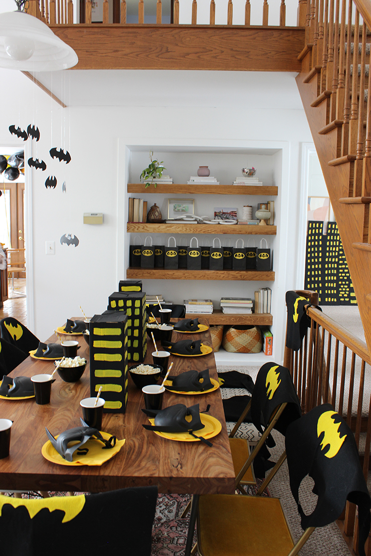 DIY Batman Birthday Party
