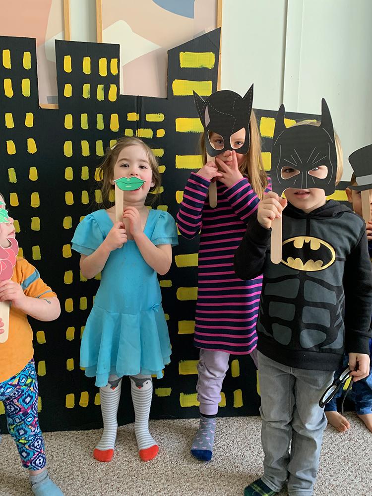 DIY Batman Party
