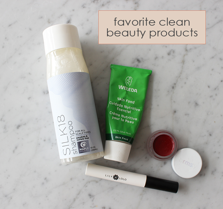 Latest Clean Beauty Favorites