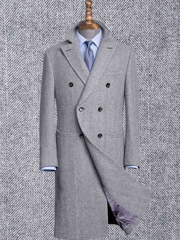 OVERCOATS  from $2250 - Create your dream overcoat, featuring exclusive fabrics such as the famed Loro Piana Storm System. We also recommend fabrics from Scabal, Holland & Sherry, Dugdale Bros. and Ariston.