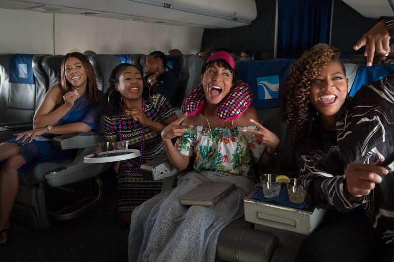 Regina Hall, Tiffany Haddish, Jada Pinkett Smith and Queen Latifah let loose on a  Girls Trip.