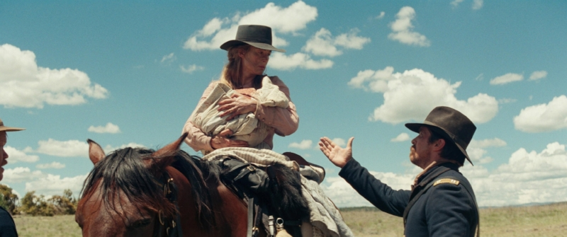 Rosamund Pike and Christian Bale begin the dance of the aggrieved.