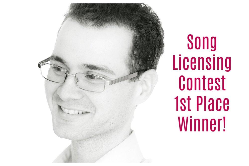 Song Licensing Contest Winner!