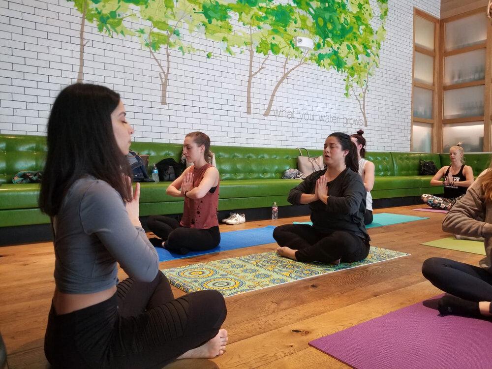 Yoga + Brunch @ True Food Kitchen