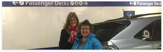On board the 7am ferry bound for Tsawwassen.