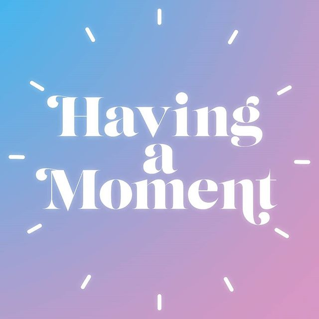 New sister project...check out the pod on 9/19! 🎧🎧🎧 @havingamoment_pod #podcast #feminism #instapodcast