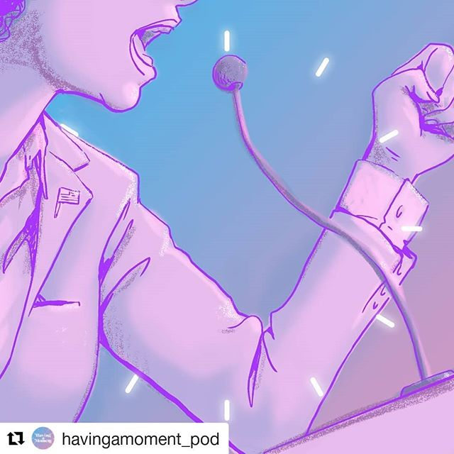 Our podcast is moving ➡️ come on over  #Repost @havingamoment_pod ・・・ Episode 2 is up! We're talking about women running for office...and SURPRISE, there's a double standard for lady candidates #linkinbio . . . #havingamoment #podcast #podcasting #instapodcast #feminism #intersectionalfeminism #thefutureisfemale #electwomen #womenhelpingwomen #womenempowerment #creative #inspire @emilys_list @voterunlead @voteprochoice