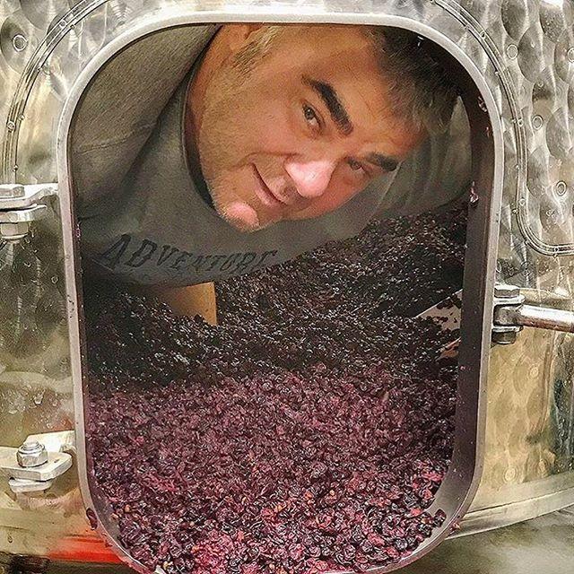 tel père, telle fille 😊 #domainefelettig #chambollemusigny #felettig #harvest #devatting #decuvage #welovewine #winelovers #burgundy #winelover #wine #instawine