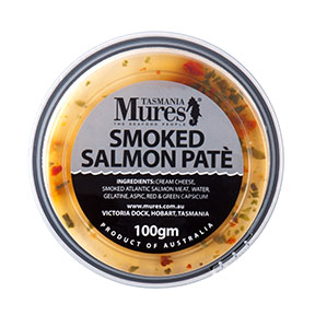 Smoked Salmon Paté  100g, 500g, 1kg Scrumptious cracker toppings Shelf life: 21 days
