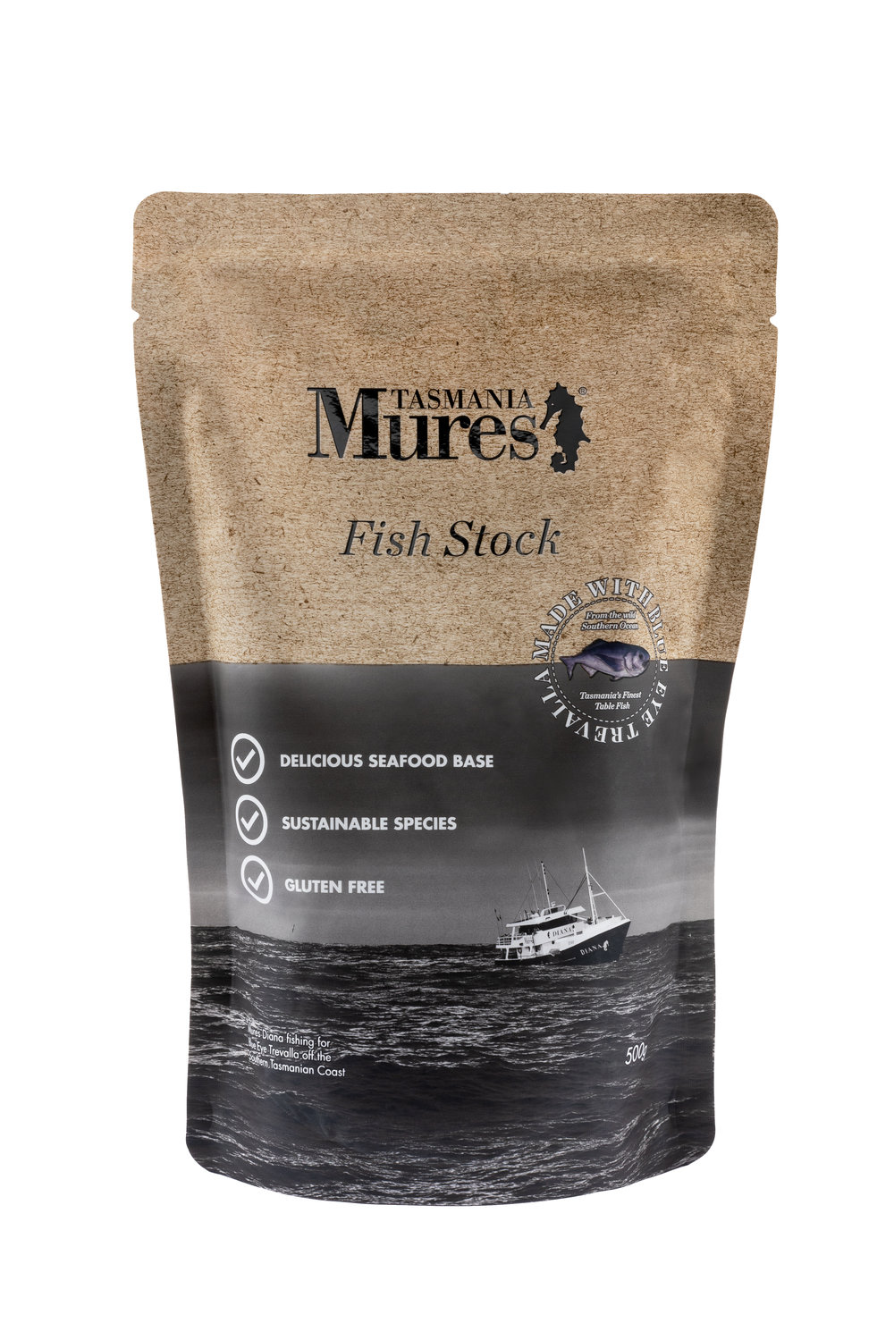 Fish Stock  500g Convenient base to a gourmet meal Shelf life: 24 months