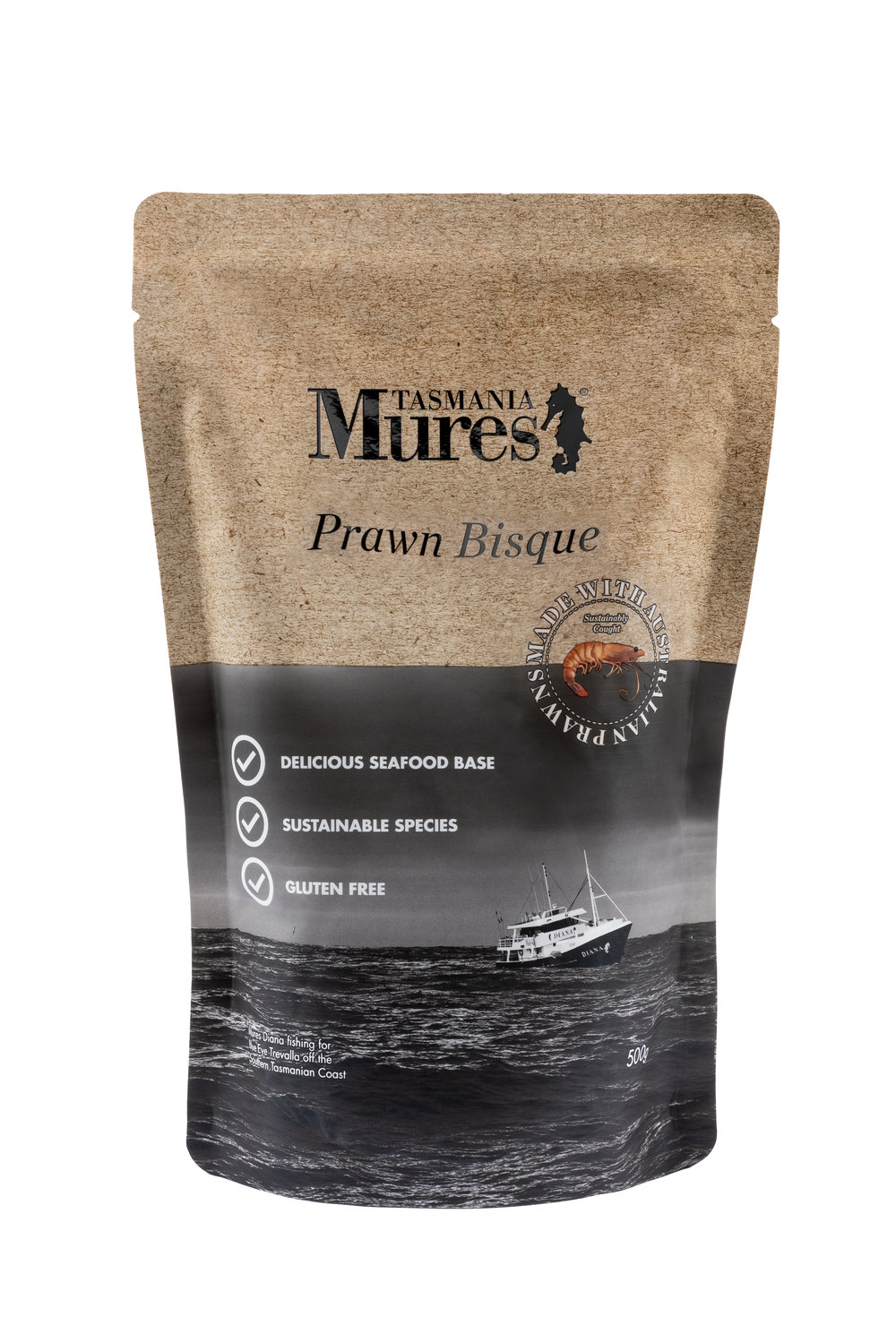 Prawn Bisque  500g Convenient base to a gourmet meal Shelf life: 24 months