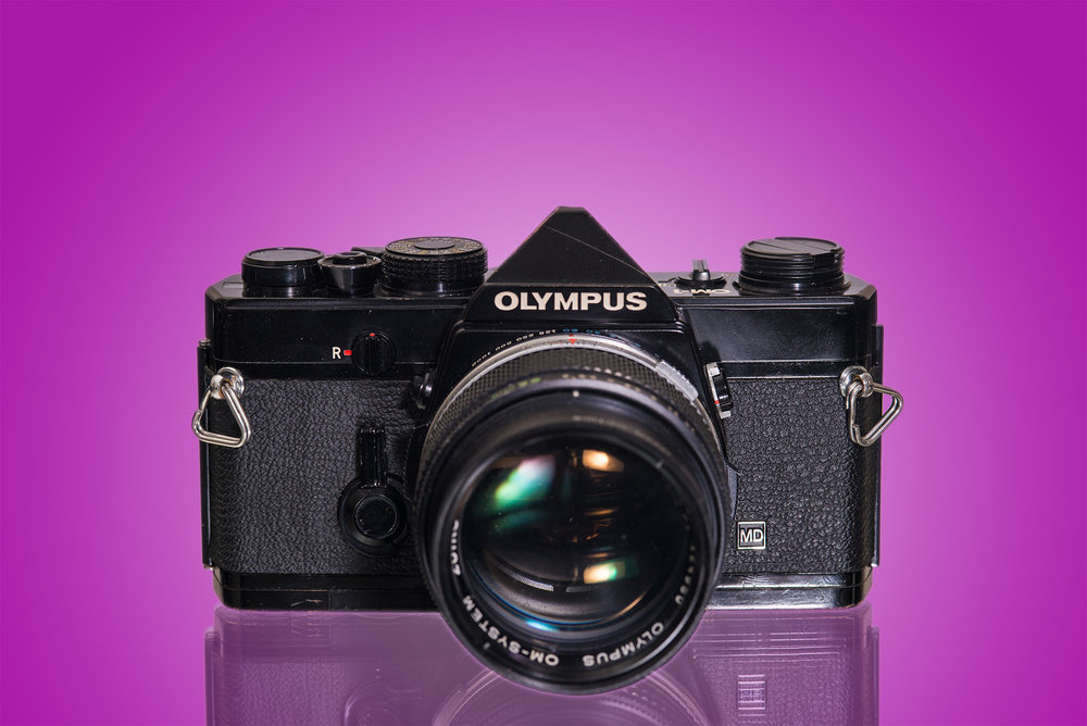 The OM-1 MD in Black