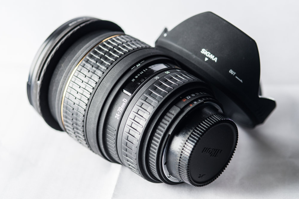 The Sigma 24-70 f/2.8 EX DG for Nikon F