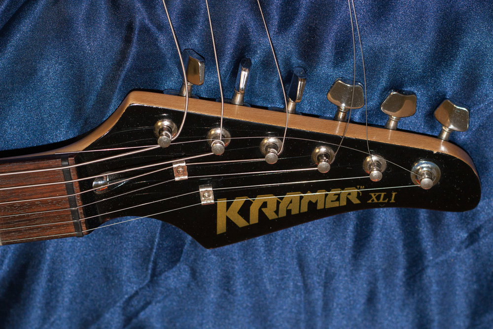 I've never seen another XL with a headstock like this one.