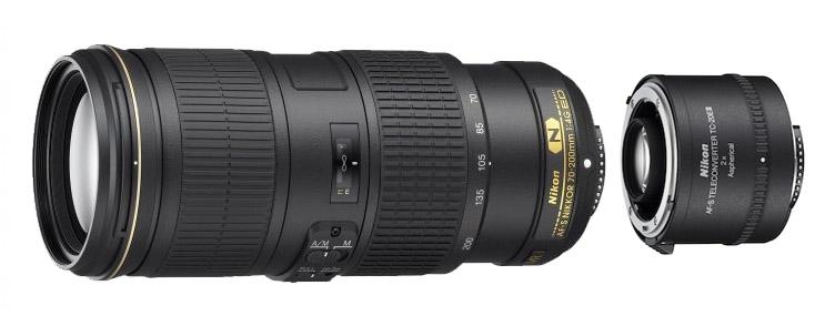 Nikon 70-200 F/4 VR with Teleconverter TC-20E III