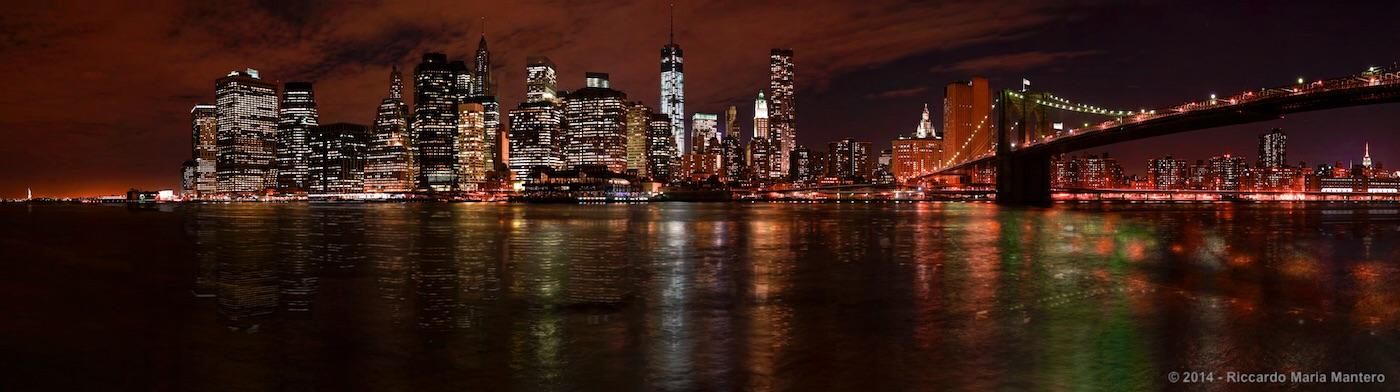 NY Skyline night small