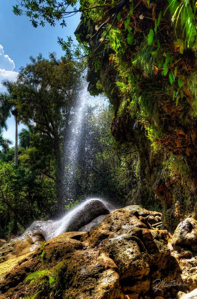 The waterfall of Soroa, in the Pinar del Rio Region, Cuba.